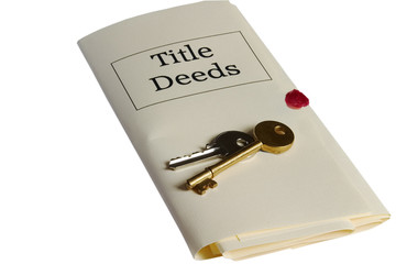 Title Deeds and keys