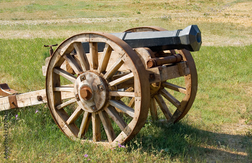 Antique field-gun.