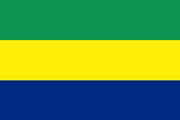 Flag - Gabon