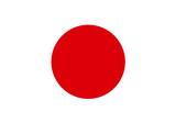 Flag - Japan poster