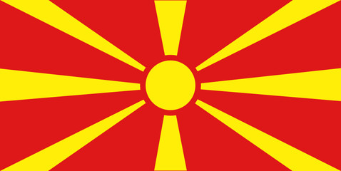 Flag - Macedonia