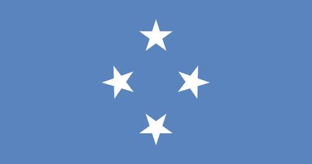 Flag - Micronesia