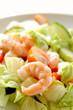 Delicious prawn salad