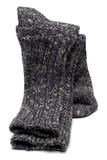 socks winter warm hiking wool rag knit poster