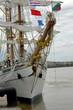 voilier le Cuauhtemoc à Bordeaux