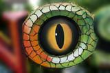 dinosaur eye in the gardens poster