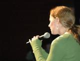 Singer Performing poster