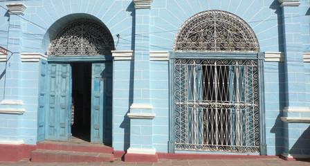 Blaues Portal