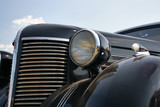 Classic and vintage cars - headlight and radiator enclosure poster