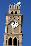 Clock Tower in Akko, Israel poster