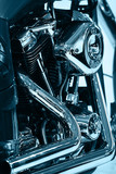 Engine of Motorcycle (monochrome) - 3739884