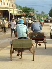 Cyclo a Kampot