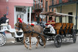 Carriage in old city
