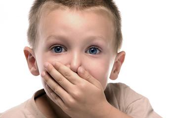 a boy said something and got ashamed