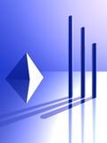 geometric shape poster