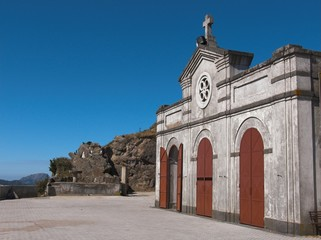 Messina chiesa del santuario Dinnamare