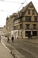 Die Straße zum Markt