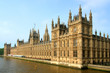 London Parliament, view from Westminster bridge