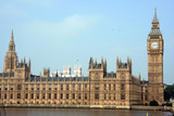 London, Palace of Westminster (Parliament) poster