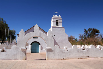 Church in Atacama de Chili