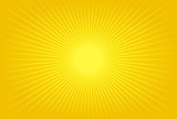 abstract design with sun rays, ideal for backgrounds poster