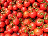 red cluster tomatoes poster