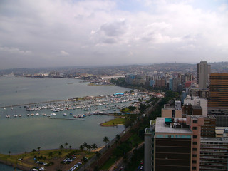Durban - bird eye view
