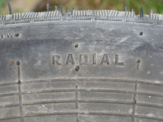 Old tyre