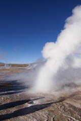 Tatio Geysers on the Altiplano in Chile