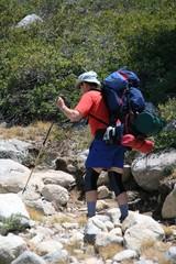 hiker,camper
