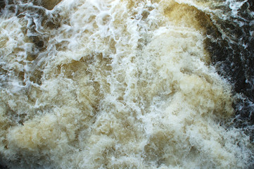 The rough stream.