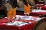 restaurant table poster