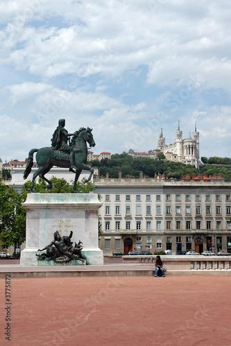 Lyon - Place Bellecour - 3775872