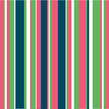 Pink, Blue & Green Stripes