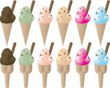 ice cream sprinkles poster