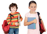 lovables students childrens a over white background poster