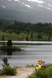 camper,kayak poster