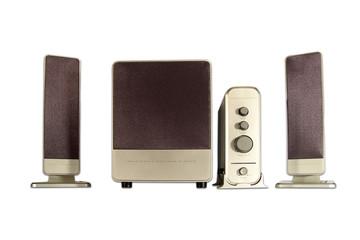 Multimedia speaker system 2.1