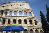 collosseum colosseum rome italy historic famous site poster