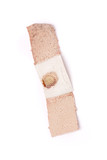 used Bandage with blood poster