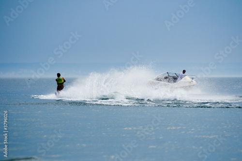 Staande foto Water Motorsp. waterskiing II