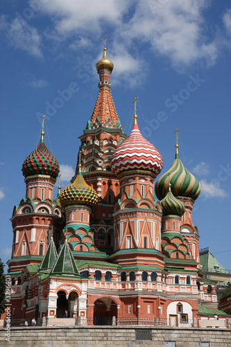 St.Basil Cathedral, Red Square, Moscow..