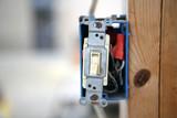 A single pole 120v light switch  poster