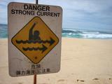 Danger sign 03 poster