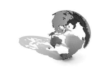 3D Globe (America)