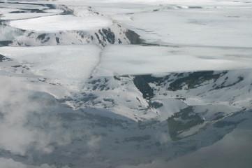 Spiegel im Eis