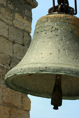 Big old bell in Crimea, Ukraine
