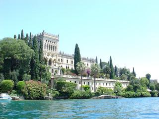 castle on island