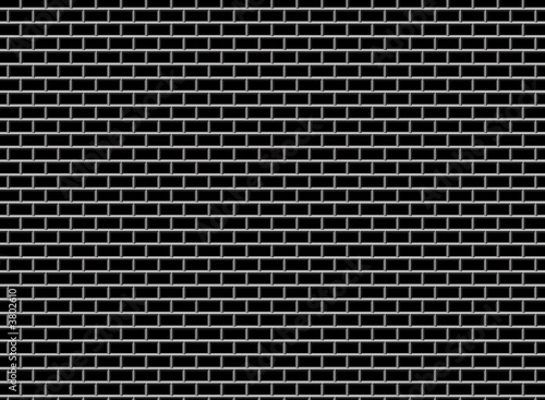 Subway Tile-Black - 3802610
