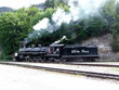 Steam Engine - White Pass Yukon railroad